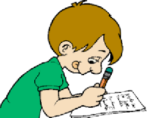 Clipart Info - Taking A Test PNG