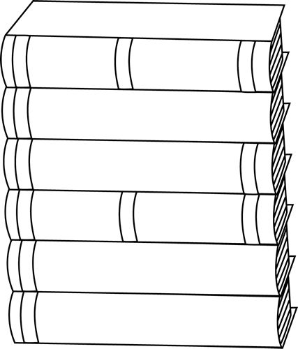 tall stack of books png black and white transparent tall stack ofstack of books clip art of books clip art image black and white outline