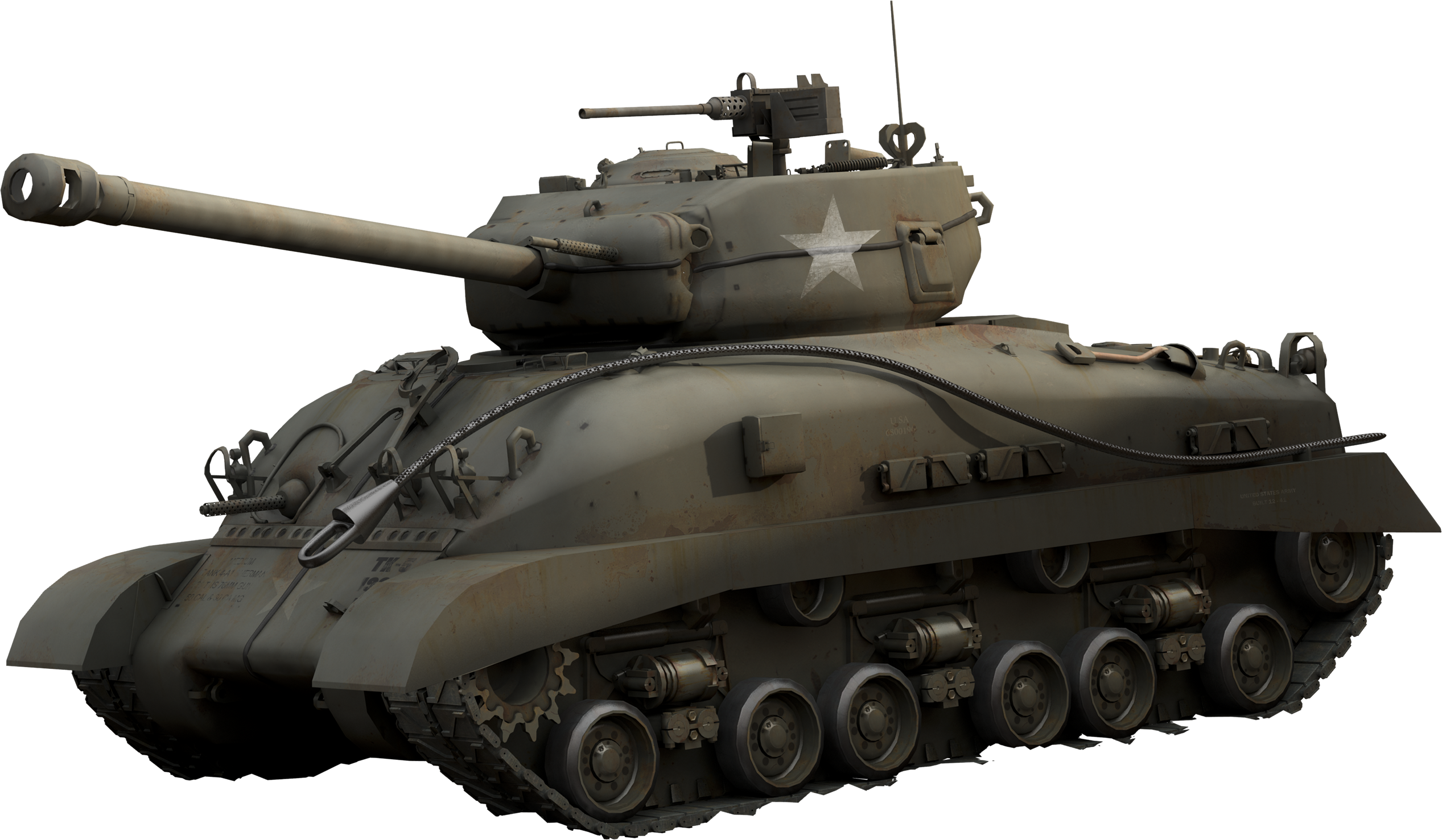 US tank PNG image, armored tank - Tank HD PNG