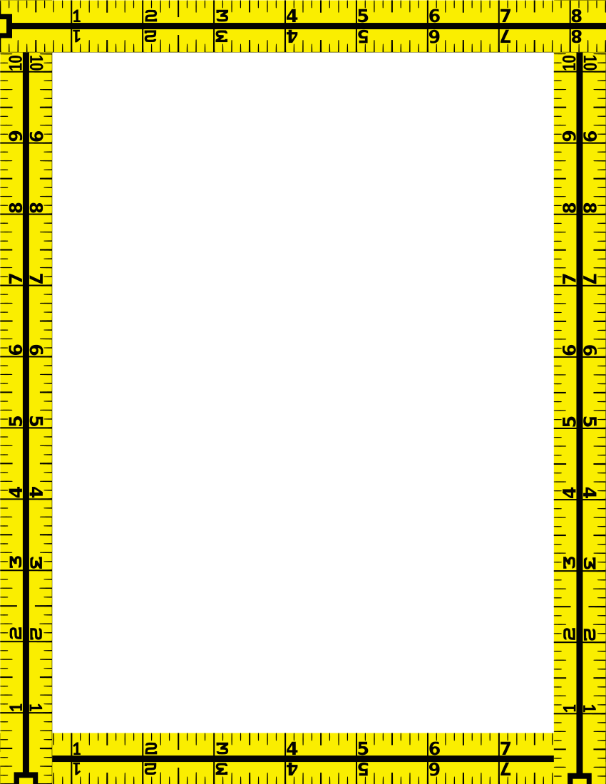 Download pngtransparent PlusPng.com  - Tape Measure Border PNG