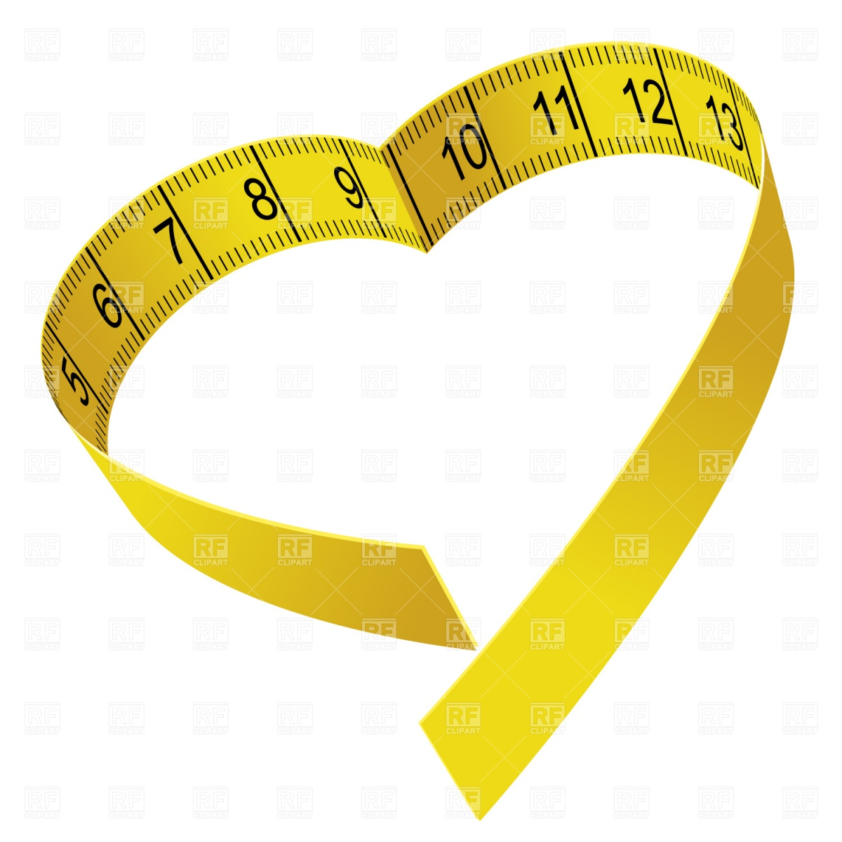 Measuring Tape Free Clipart #1 - Tape Measure Border PNG