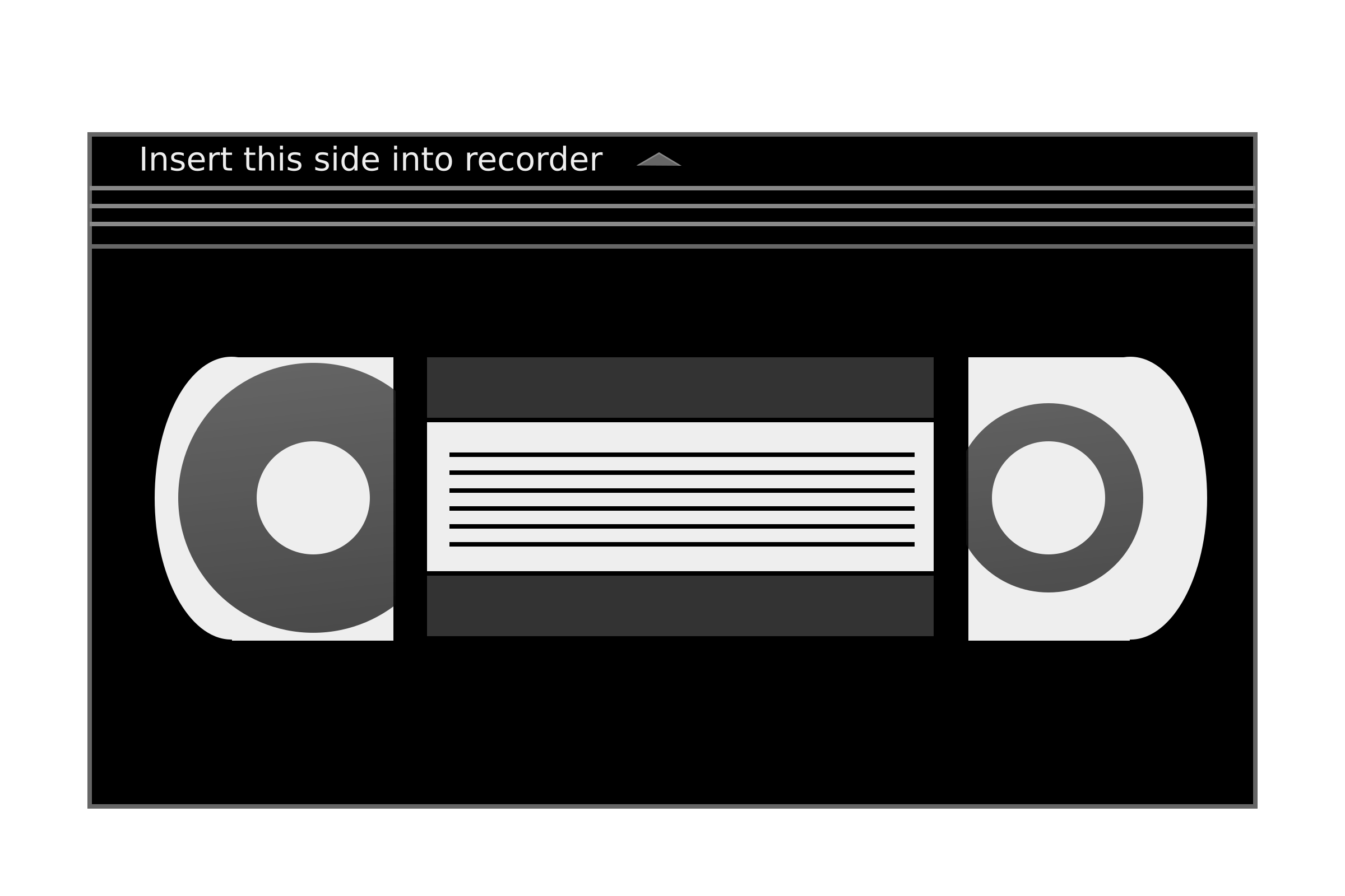 Tape PNG Black And White - 162012