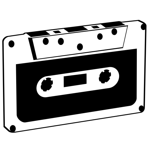 Tape PNG Black And White - 162024