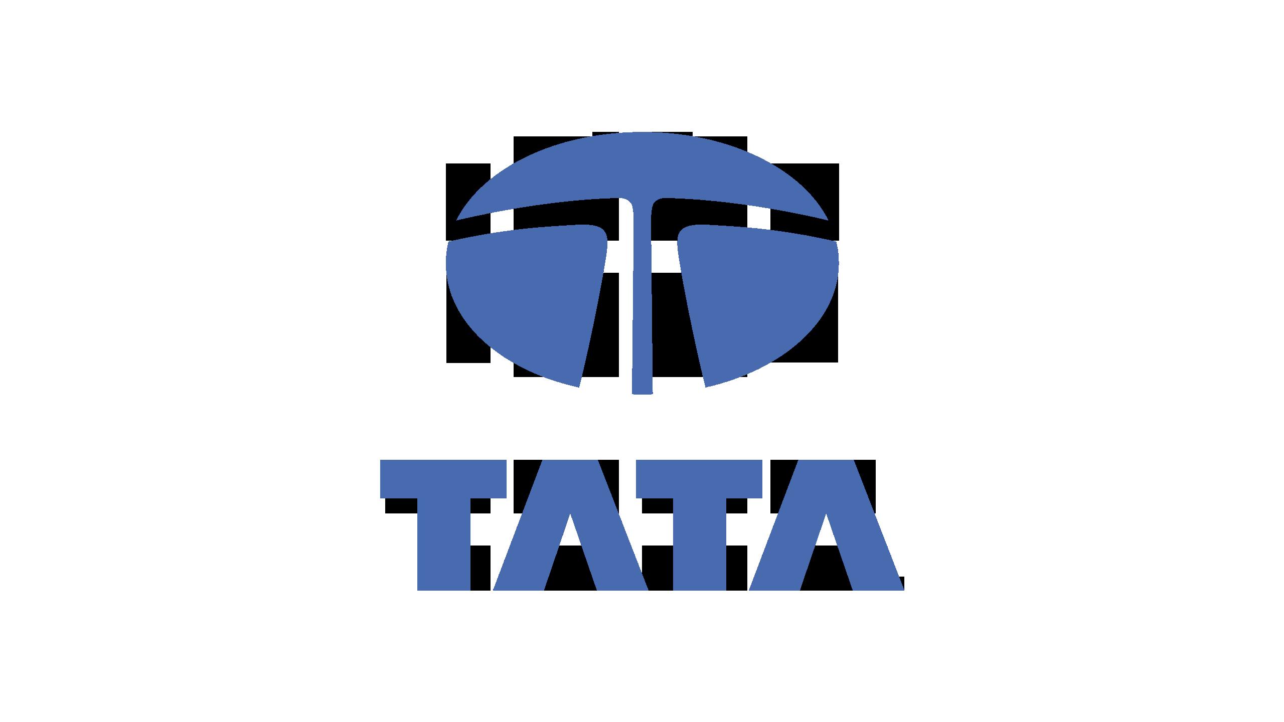 Tata Logo (2000-Present) 2560x1440 HD png - Tata PNG