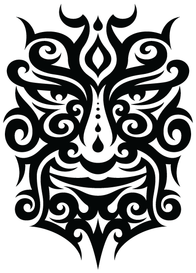 Tattoo face PNG image - Tribal Tattoos PNG