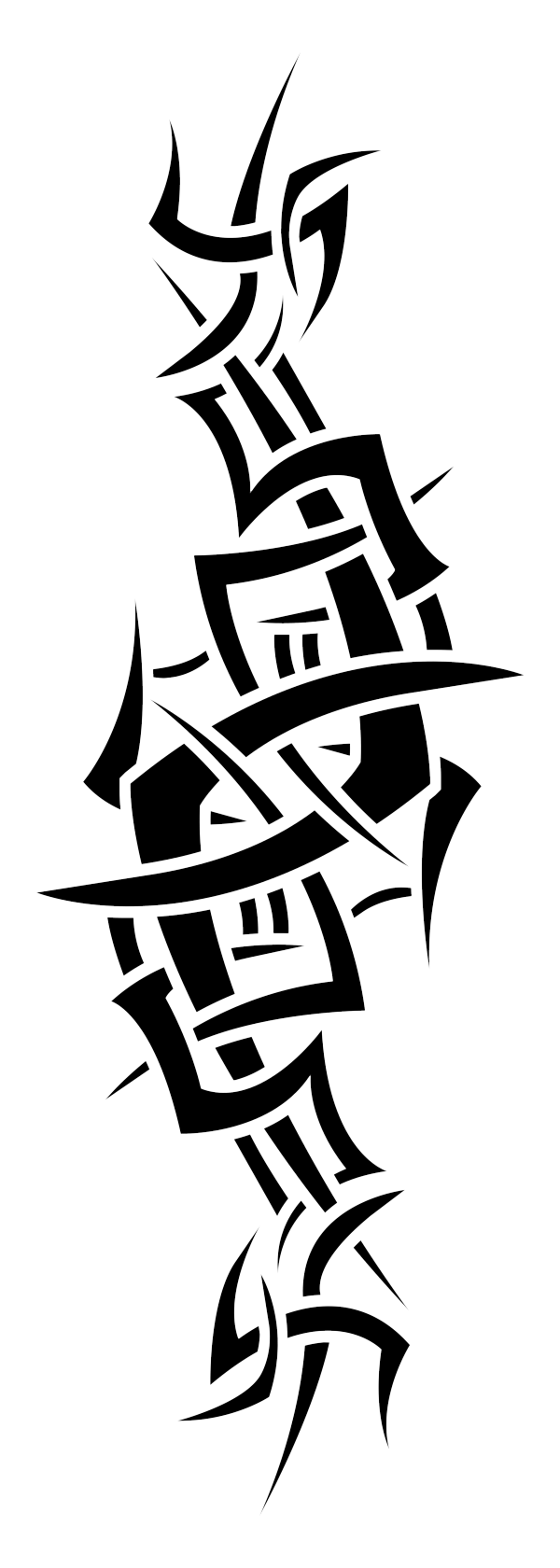 Chest Tattoo PNG Picture