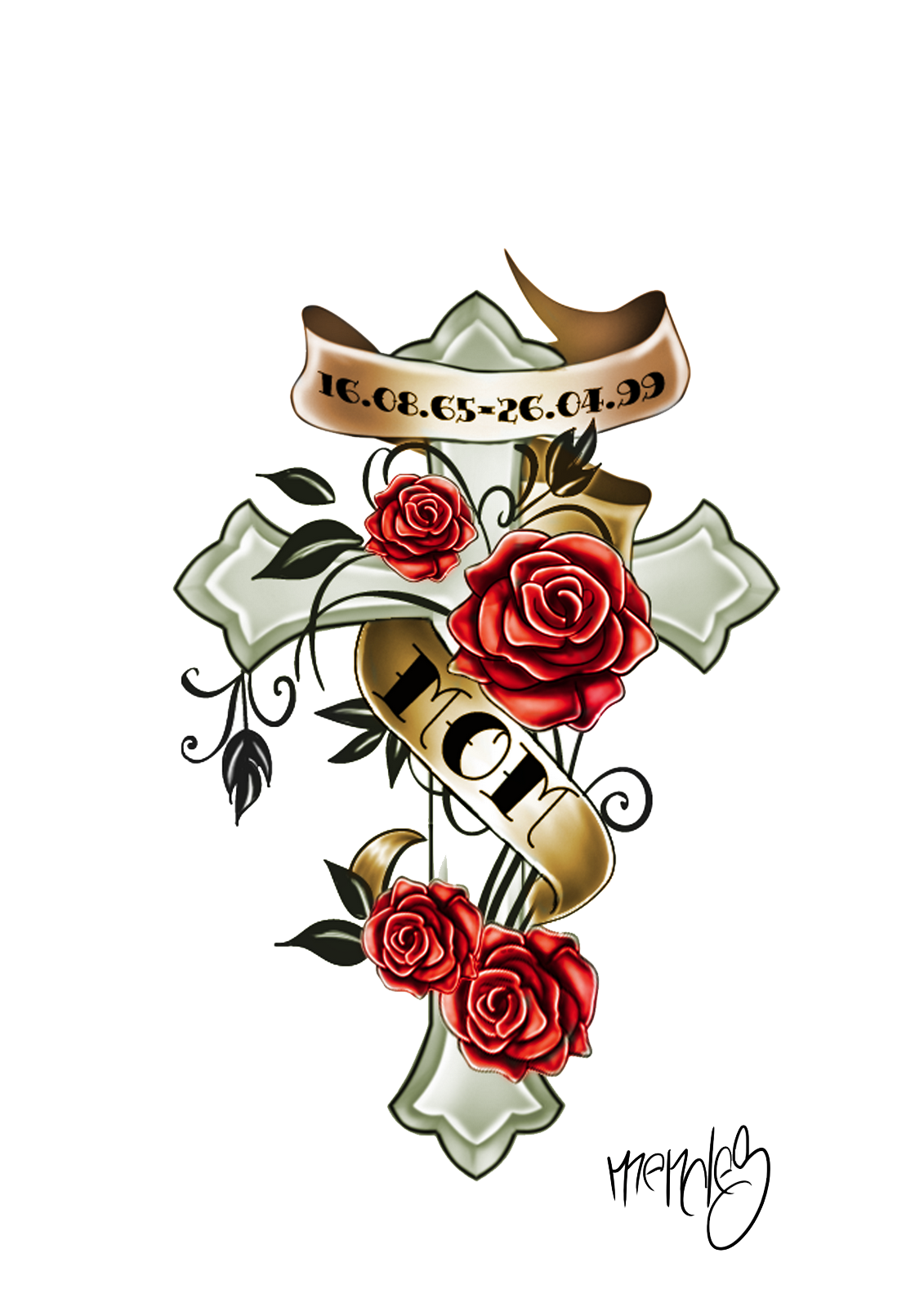 Color Tattoo PNG HD - Tattoo HD PNG