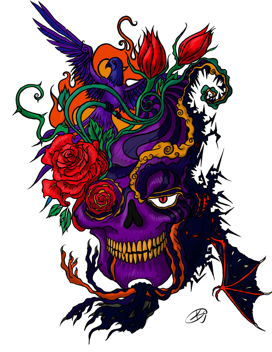 Color Tattoo PNG Image - Tattoo PNG