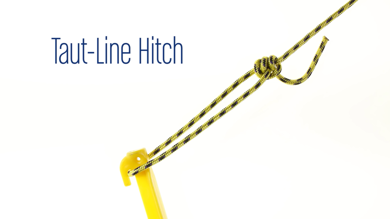 How to tie a taut-line hitch - Taut PNG