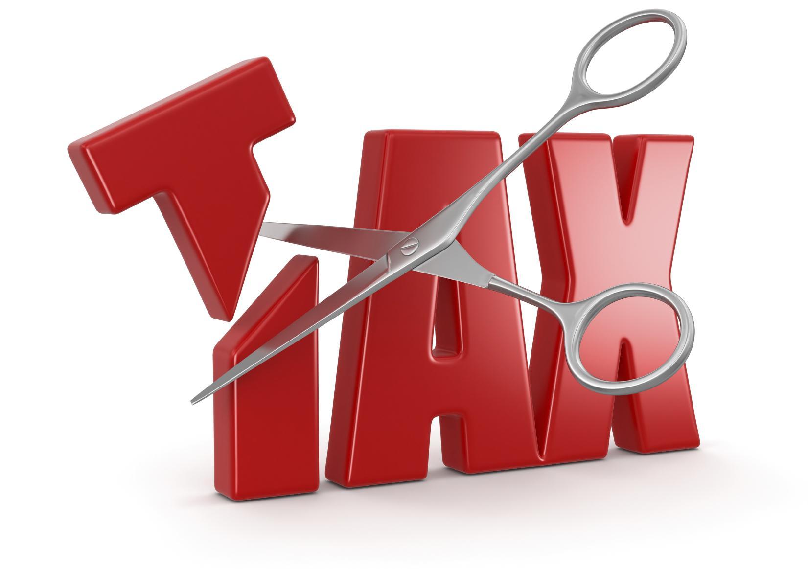 . PlusPng.com Tax-cut.jpg PlusPng.com  - Tax PNG