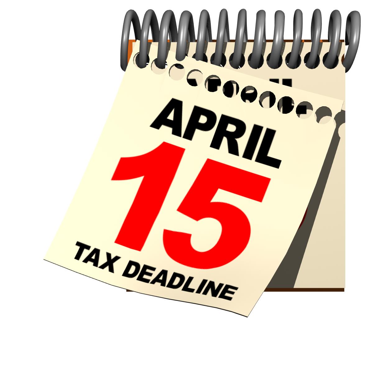 april 15 deadline - Taxes Due PNG