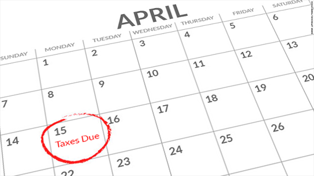 tax calendar - Taxes Due PNG