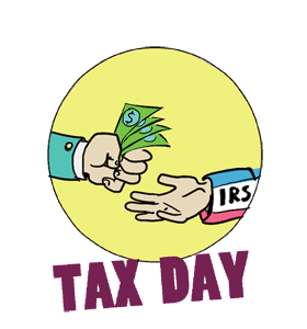 Tax Day (Taxes Due) - Taxes Due PNG