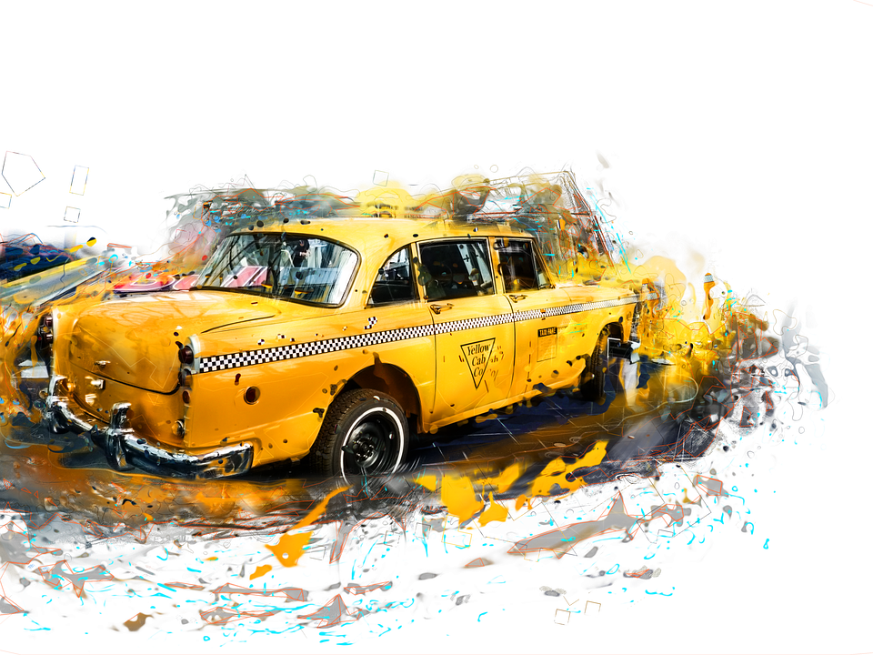 Taxi HD PNG - 94886