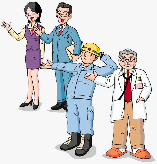 All walks of life experts buckle creative HD Free, Doctors, Worker, Teacher  Free PNG Image and Clipart - Teacher PNG HD Free