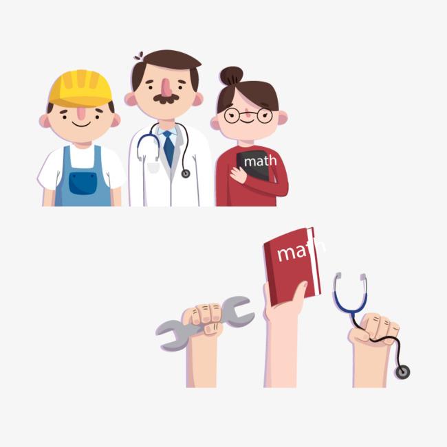 Vector Doctor teacher, HD, Vector, Hand Free PNG and Vector - Teacher PNG HD Free