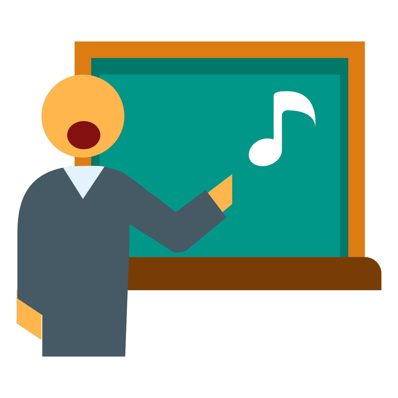 Singing Teacher icon - Teacher PNG