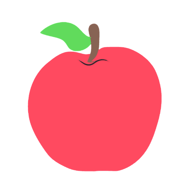 Teacher With Apple PNG