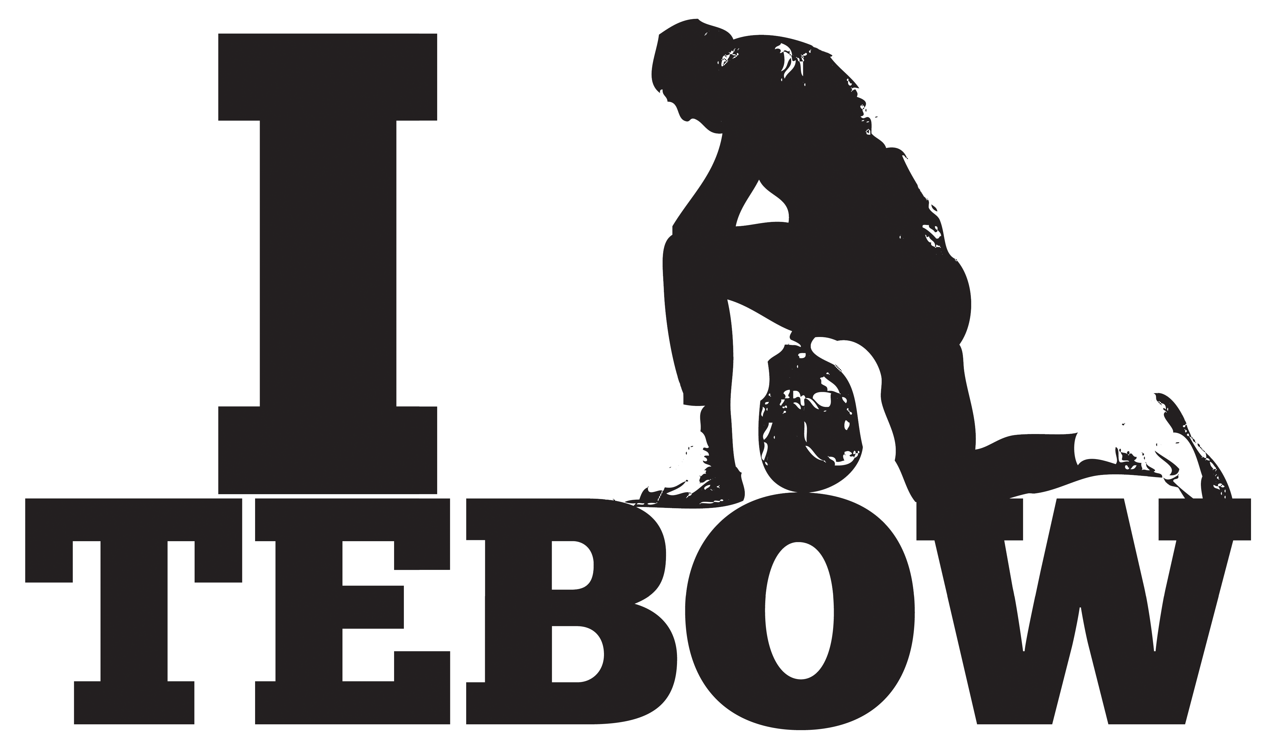 Tebow - Tebowing PNG