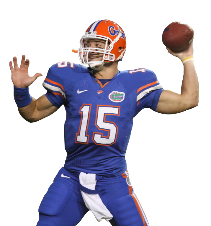 Tim Tebow - Tebowing PNG
