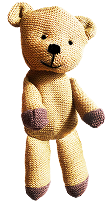 Brown teddy bear with a rose PNG PlusPng.com  - Teddy Bears PNG