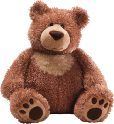 . PlusPng.com Gray teddy bear png - Teddy Bears PNG