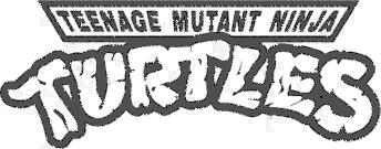pin Turtle clipart logo png #9 - Teenage Mutant Ninja Turtles PNG Black And White