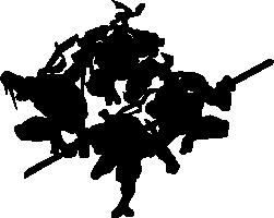 Teenage Mutant Ninja Turtles Silhouette - Teenage Mutant Ninja Turtles PNG Black And White