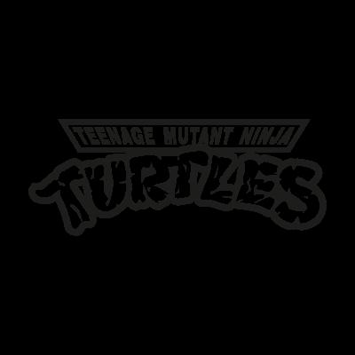 Teenage Mutant Ninja Turtles vector logo - Teenage Mutant Ninja Turtles PNG Black And White