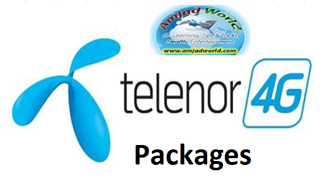 Telenor 4G Packages in Pakistan 2016 - Telenor PNG