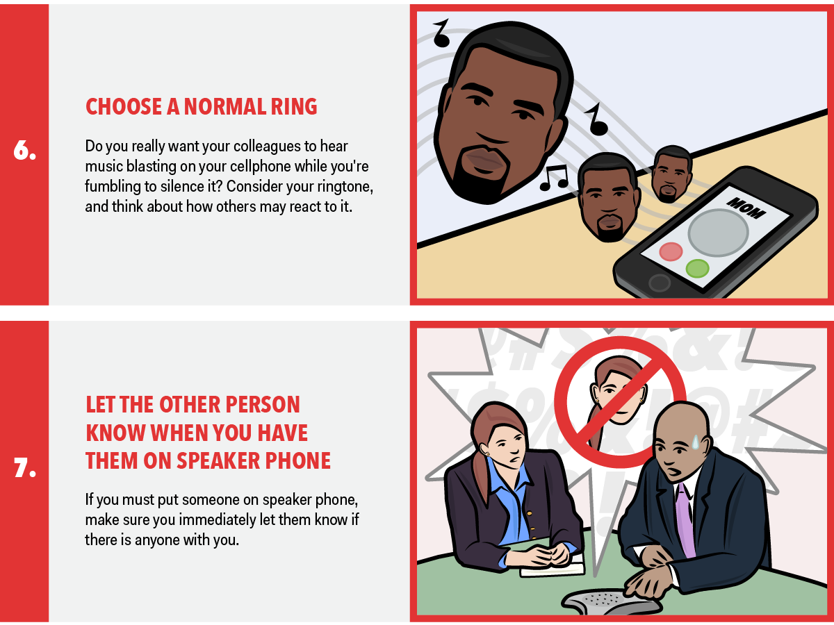 Telephone Etiquette Dos And Donts PNG Transparent ...