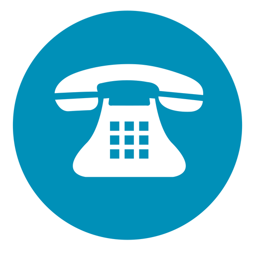 Telephone round icon - Telephone PNG