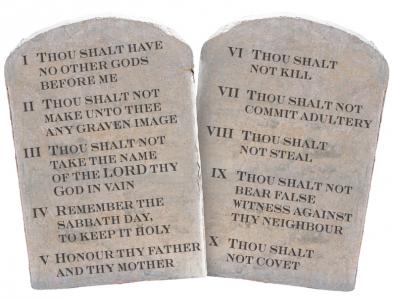 ten-commandments - Ten Commandments PNG HD