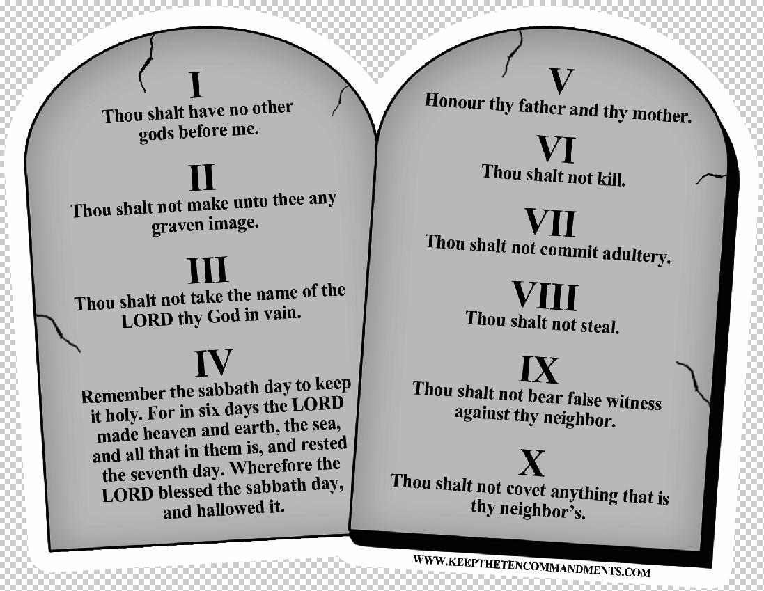 TenCommandmentsStoneMagnet.png 1,097×849 pixels - PNG Ten Commandments  Tablets - Ten Commandments PNG HD