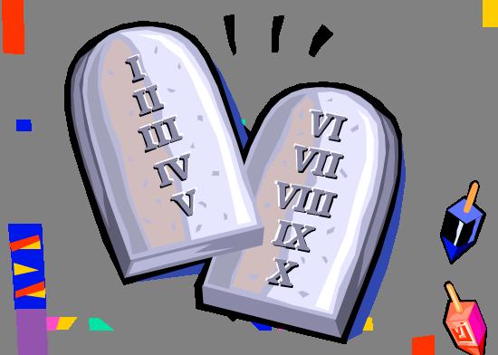 . PlusPng.com The Ten Commandments Activity - Ten Commandments PNG HD
