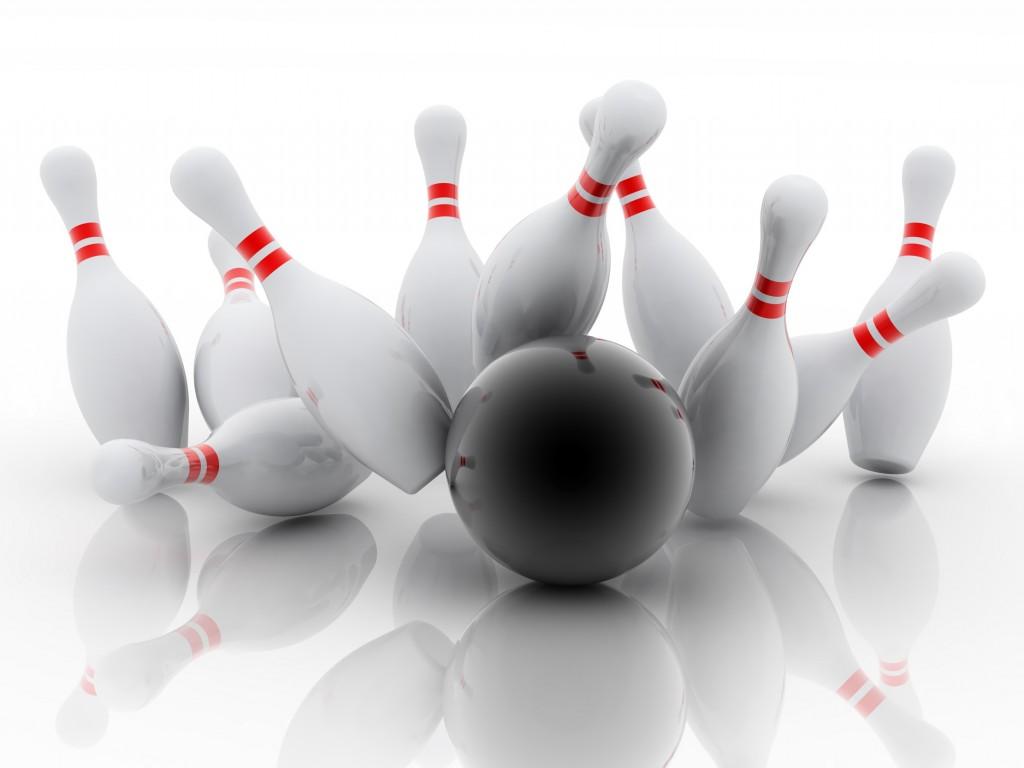 bowling 3d - Ten Pin Bowling PNG