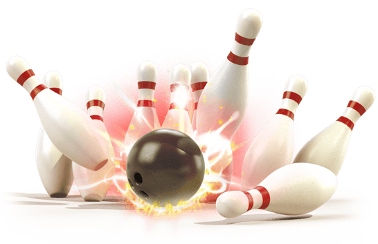 Bowling Strike - Ten Pin Bowling PNG