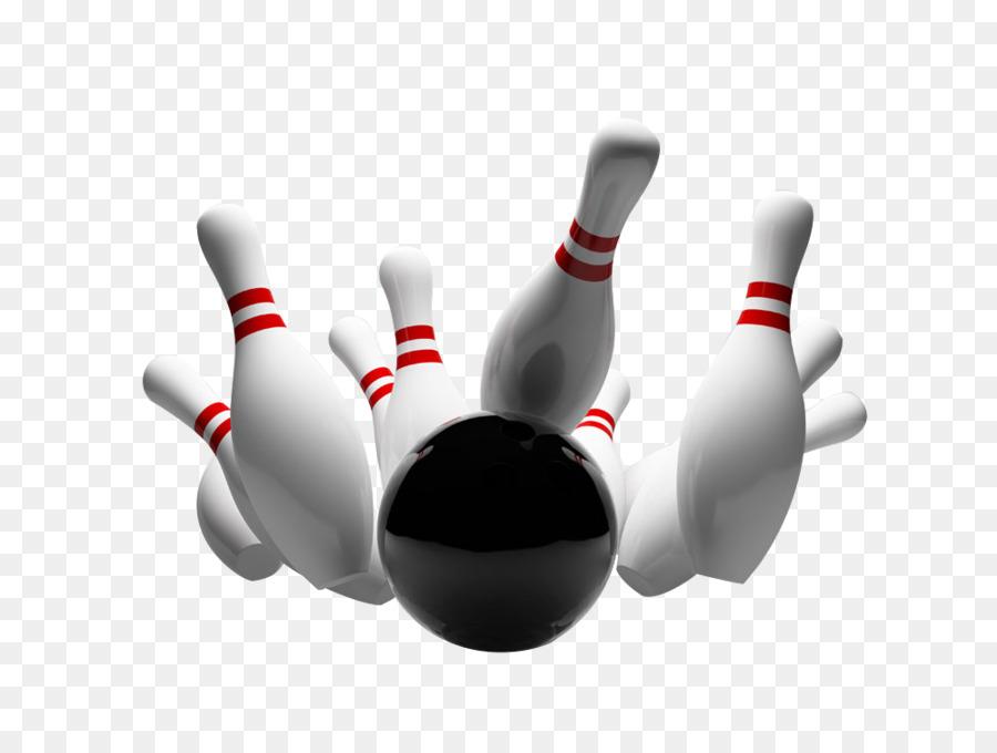 Ten-pin bowling Strike Bowling ball Bowling pin - play bowling - Ten Pin Bowling PNG