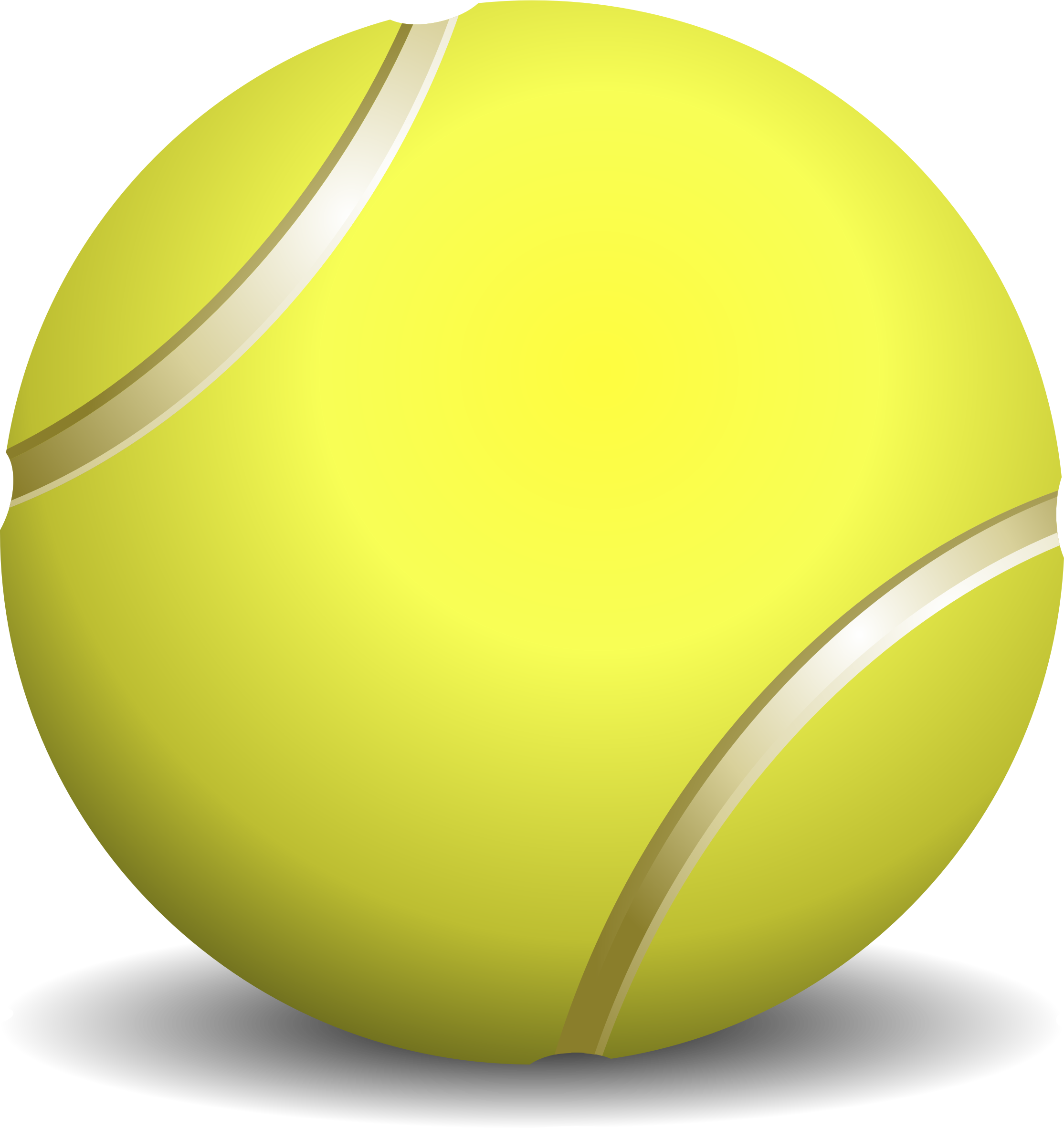 Tennis Ball Clip Art Free PNG - Tennis PNG