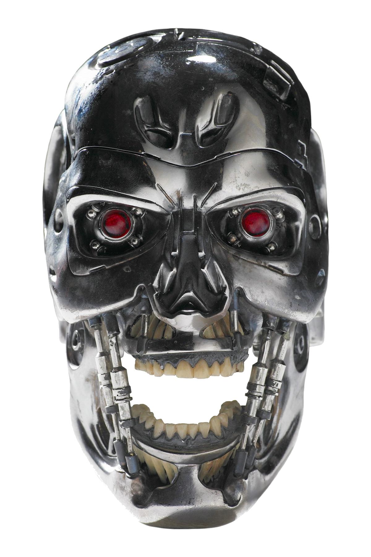 Terminator head PNG - Terminator HD PNG