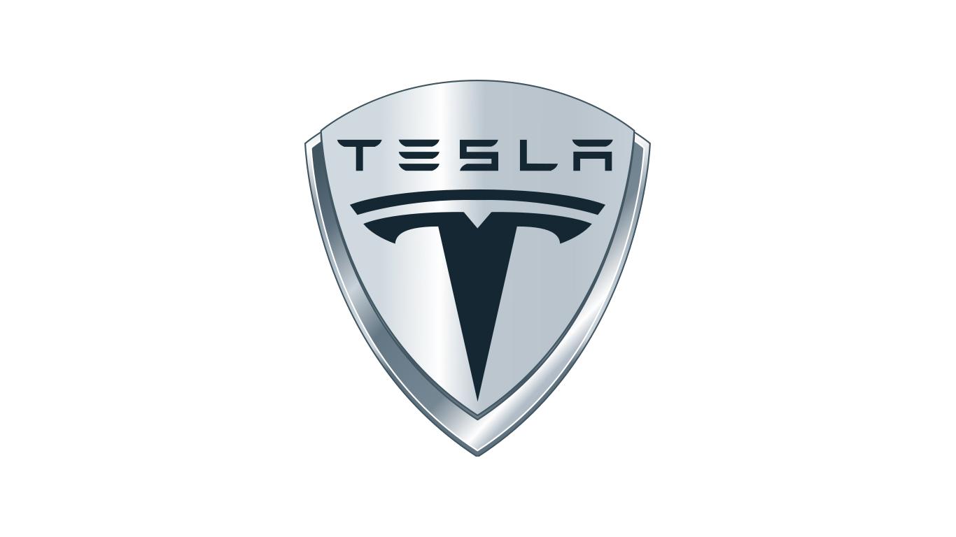 Tesla Emblem 1366x768 HD png - Tesla PNG