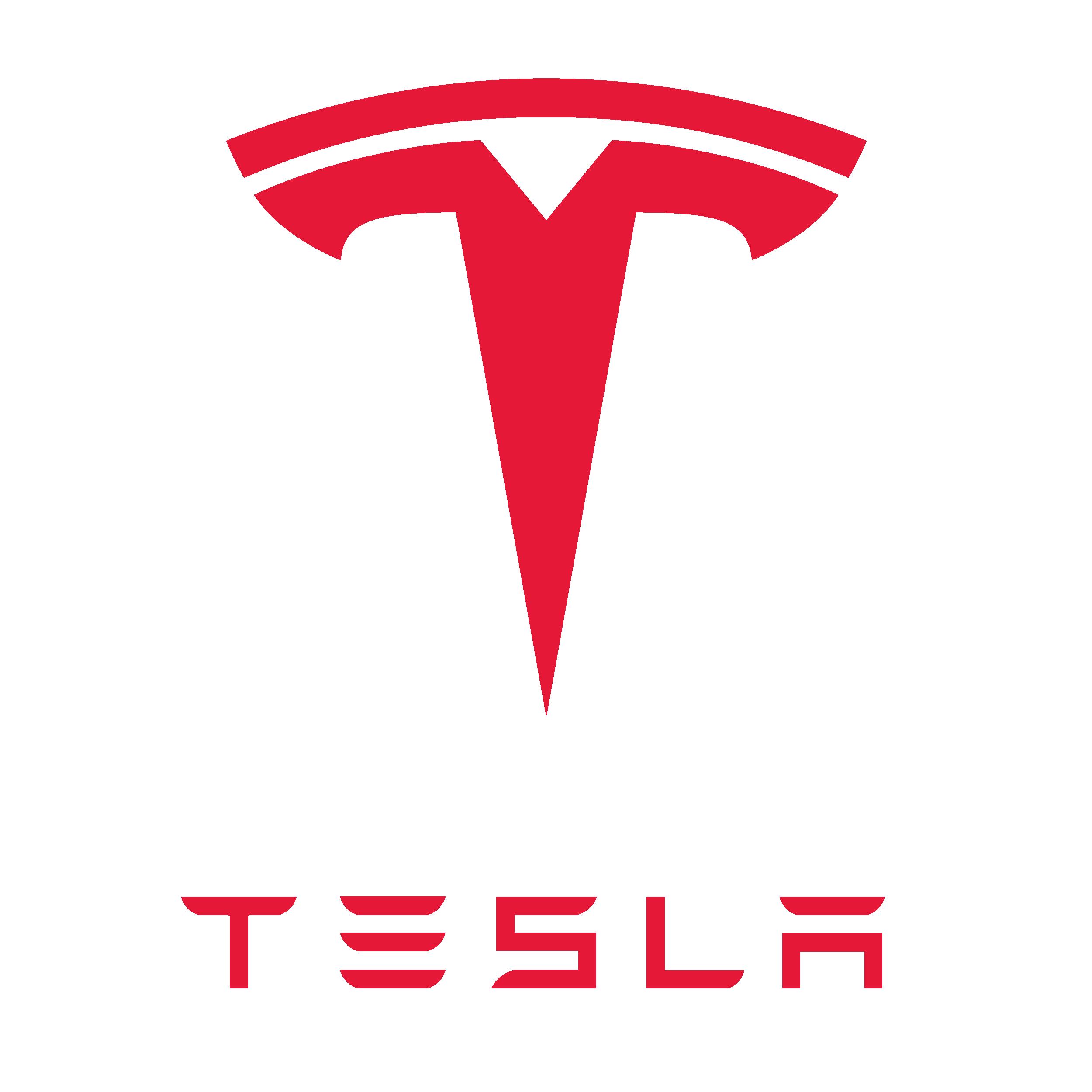 Tesla Logo (2003-Present) 2500x2500 HD png - Tesla PNG