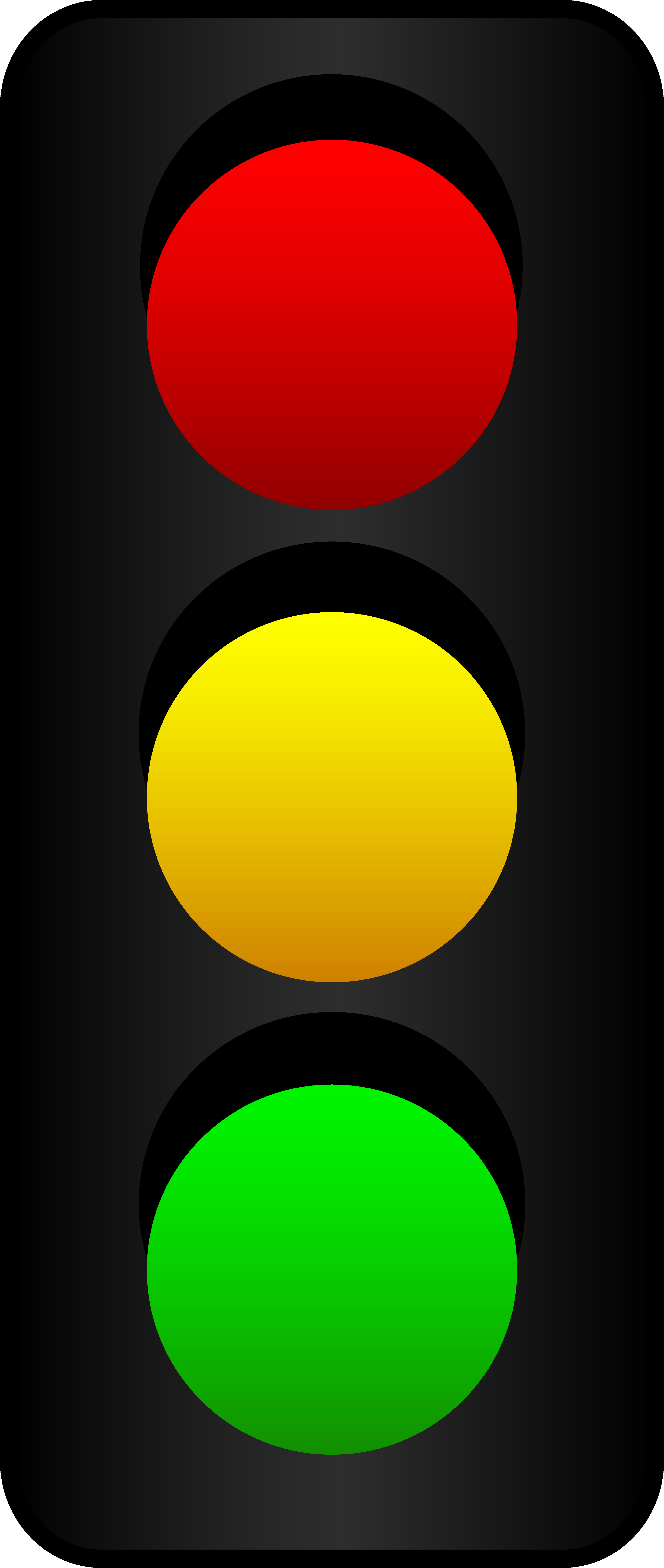 Thank God everyone agrees on the color of traffic lights - Traffic Light PNG