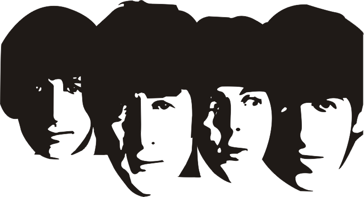 The_Beatles_by_Captain_Pepsi.png (744×404) | IMAGES | Pinterest | Beatles - The Beatles PNG