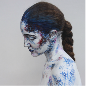 The body as a canvas: Changing perspective - Body Art PNG