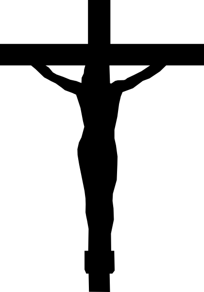 Christ On The Cross Clip Art at Clker pluspng.com - vector clip art online, royalty  free u0026 public domain - The Cross PNG