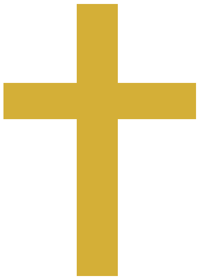 File:Gold Cross.png - The Cross PNG