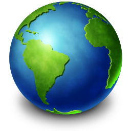 Download PNG | 256px PlusPng.com  - The Earth PNG