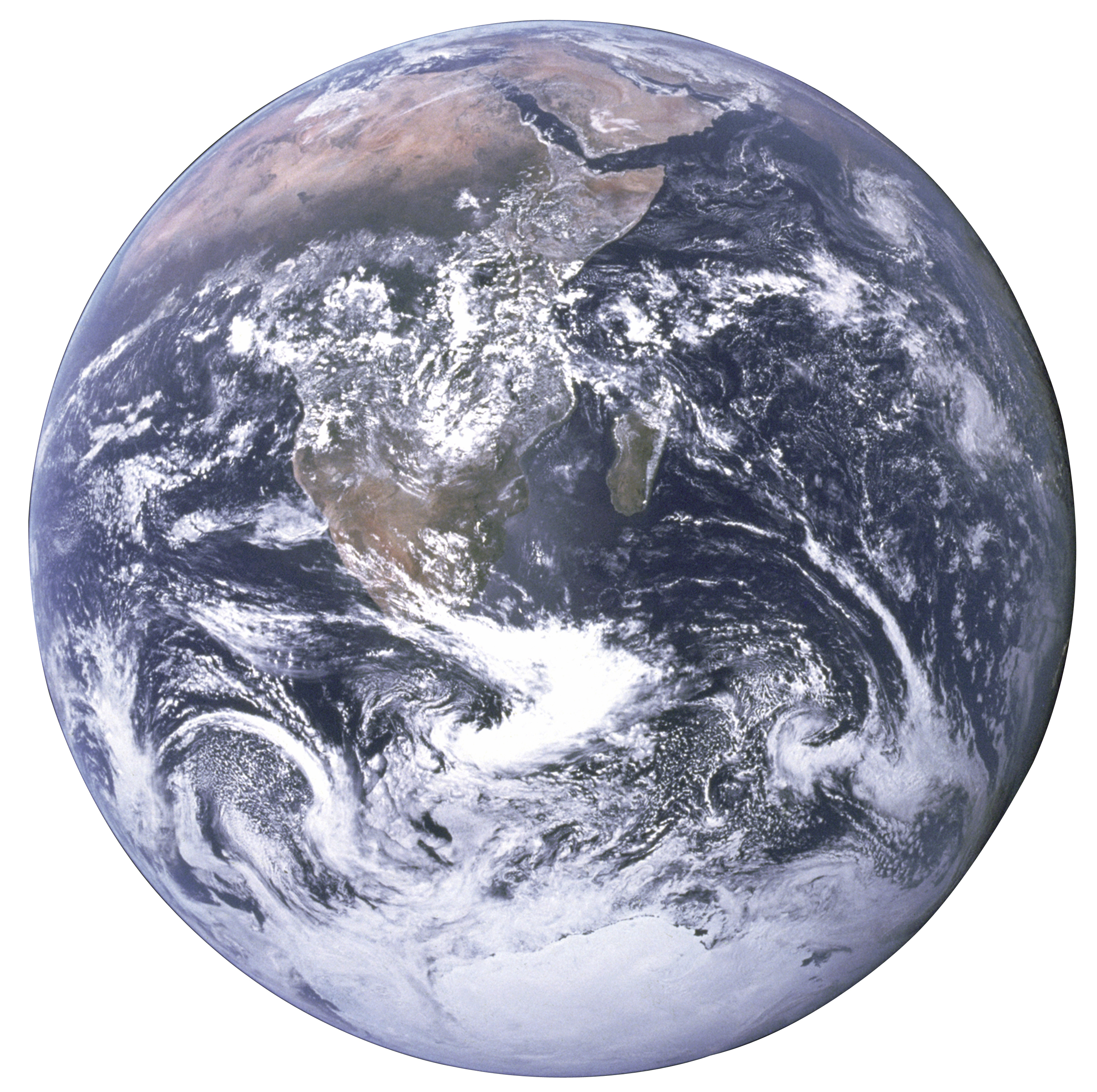 File:The Earth seen from Apollo 17 with transparent background.png - The Earth PNG