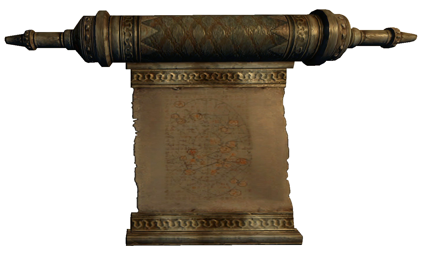 Elder Scroll (Oblivion) Scroll.png - The Elder Scrolls PNG